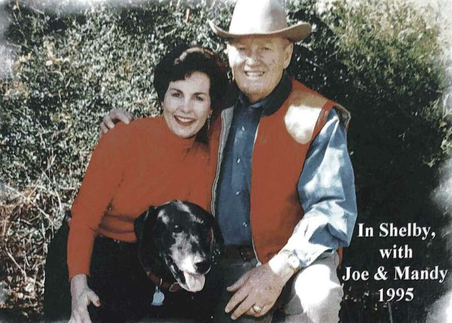 Nancy loved spending time with her husband Joe at their 103-acre farm in Shelby, Texas. Photo: Nancy Owens Breast Cancer Foundation