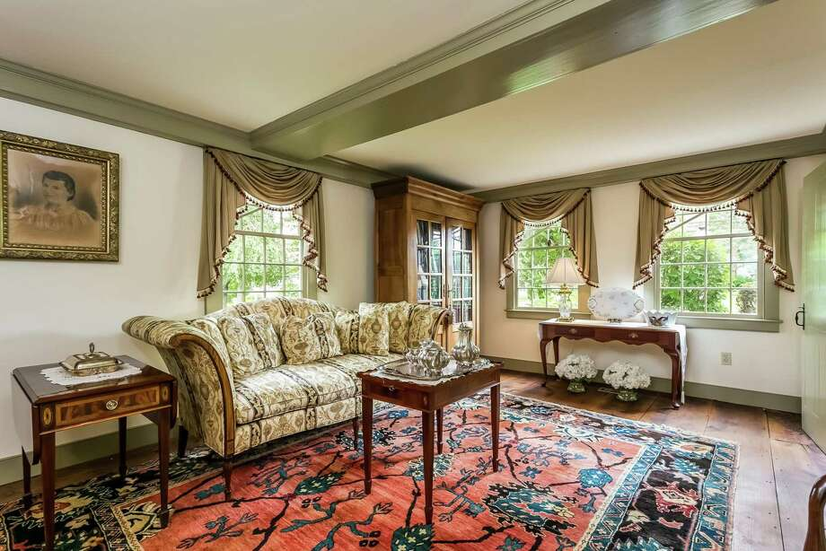 Listed in the National Register of Historic Places, the home features include 7 fireplaces, wide plank floors, a study and a music room. Photo: William Pitt Sotheby's International Realty / ONLINE_CHECK