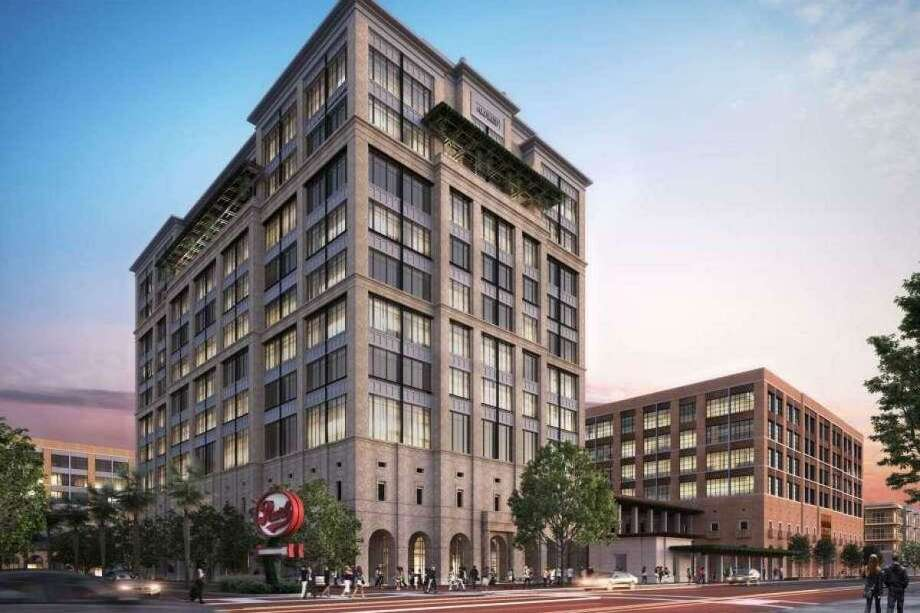 The Charlotte, North Carolina-based company plans to move into office space in a six-story building next to the new headqaurters being constructed for local credit union Credit Human. Photo: Historic And Design Review Commission