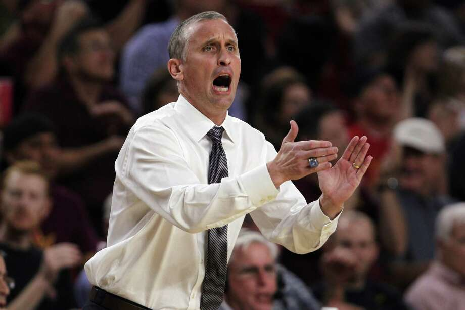 Arizona State coach Bobby Hurley is the brother of new UConn men's basketball coach Dan Hurley. Photo: Associated Press File Photo / FR157269 AP