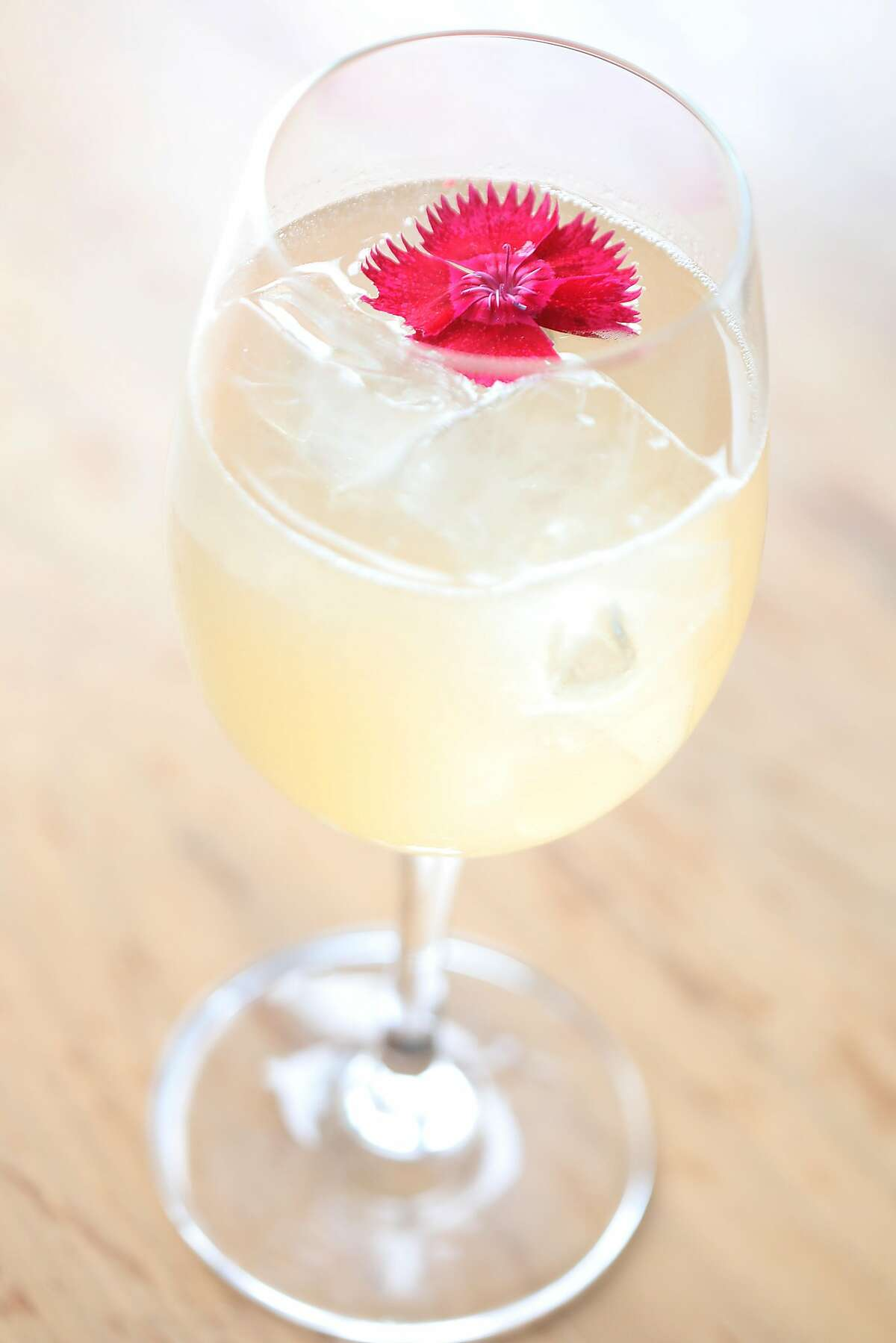 Farewell to Spring served at Pearl, a restaurant in the outer Richmond with a serious cocktail program on Friday, Sept. 21, 2018 in San Francisco, Calif.
