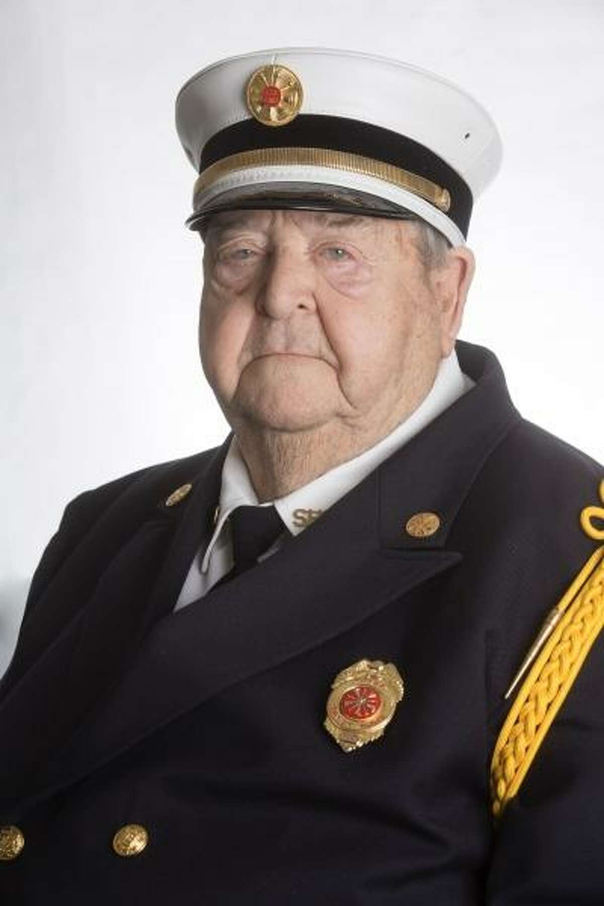 Former Fire Chief Michael Lucas, a member of Sandy Hook Volunteer Fire & Rescue Co. for more than 70 years, died Friday, Sept. 28, 2018. He was 92 years old.