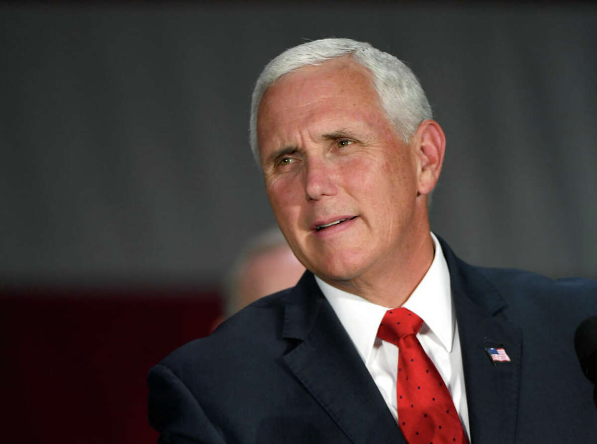 Vice President Mike Pence: He was here Thursday, conferred with Gov. Jay Inslee and state officials over the COVID-19 outbreak, and said: We know you're on the front line.