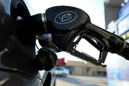 The nozzle of a gas pump pumps fule into a car at a gas station in Alhambra, east of downtown Los Angeles, on October 10, 2012 in California, where the average price for a gallon of regular gasoline rose to an all-time high earlier this week, prompting calls for a federal investigation into the price spike. AFPHOTO / Frederic J. BROWNFREDERIC J. BROWN/AFP/GettyImages