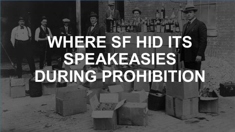 Where SF hid its speakeasies in the roarin' '20s. Photo: Bettmann Via Getty Images
