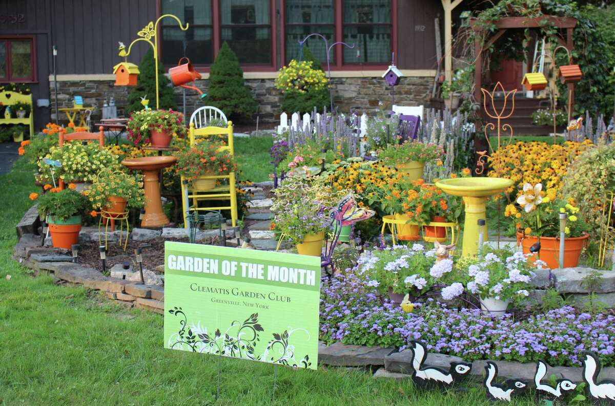 The Clematis Garden Club provides this summary of its September Garden of the Month winner: