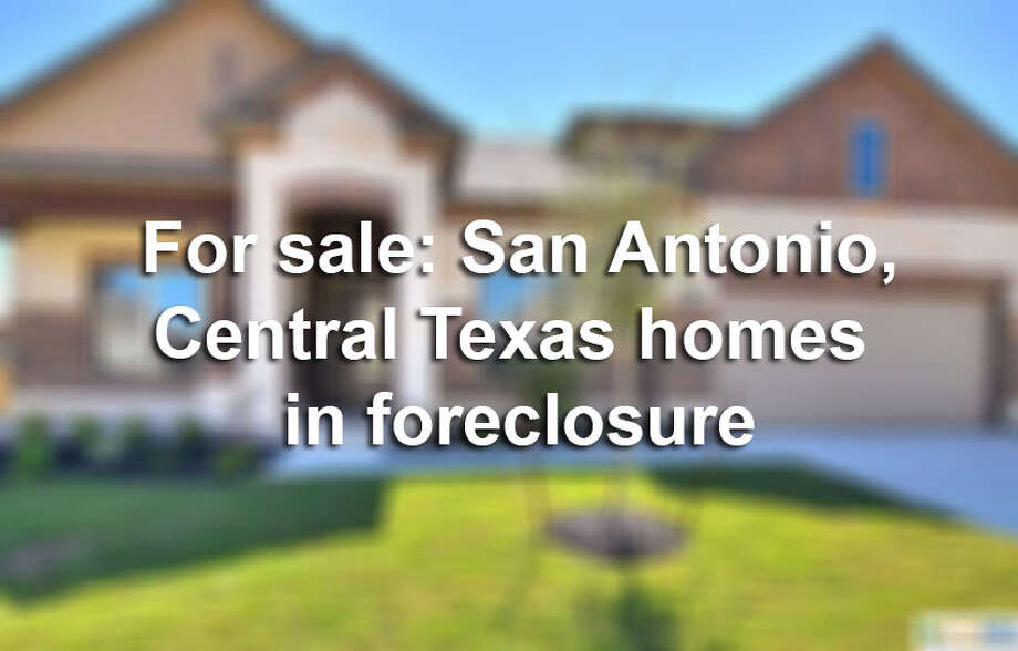 Looking for a new San Antonio-area home that's a steal? Check the foreclosed-on homes for sale. Photo: Paul Smith