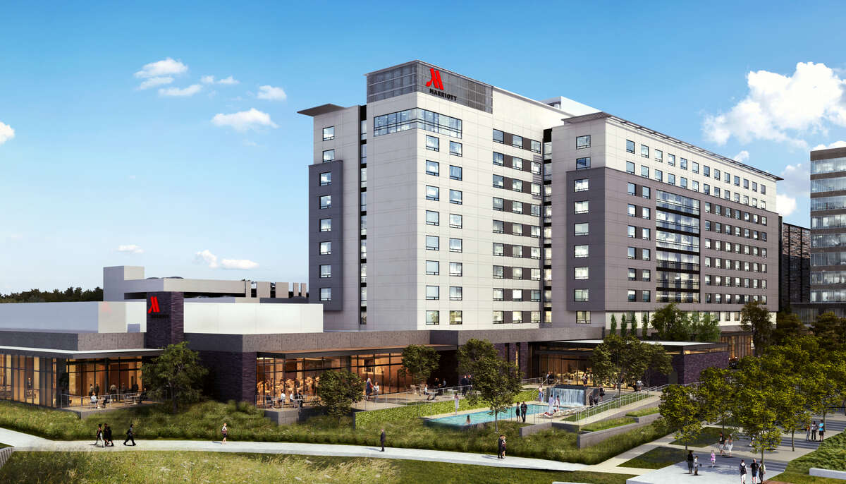 Houston CityPlace Marriott at Springwoods Village is now open at 1200 Lake Plaza Drive.