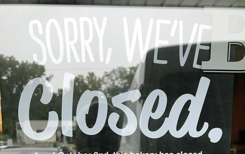 The Bruegger's Bagels location at 900 Central Ave. in Albany, open for at least 21 years, is no longer in business, according to a sign in a window that said it was closed as of Monday, June 3, 2019.