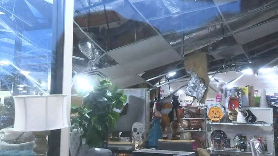 Water Blamed For Roof Collapse At San Rafael Homegoods Store Sfgate