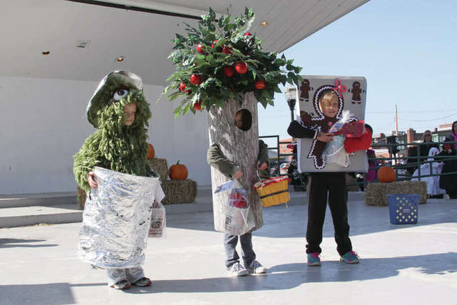 Previous contestants in the annnual Children's Costume Contest. Photo: For The Intelligencer