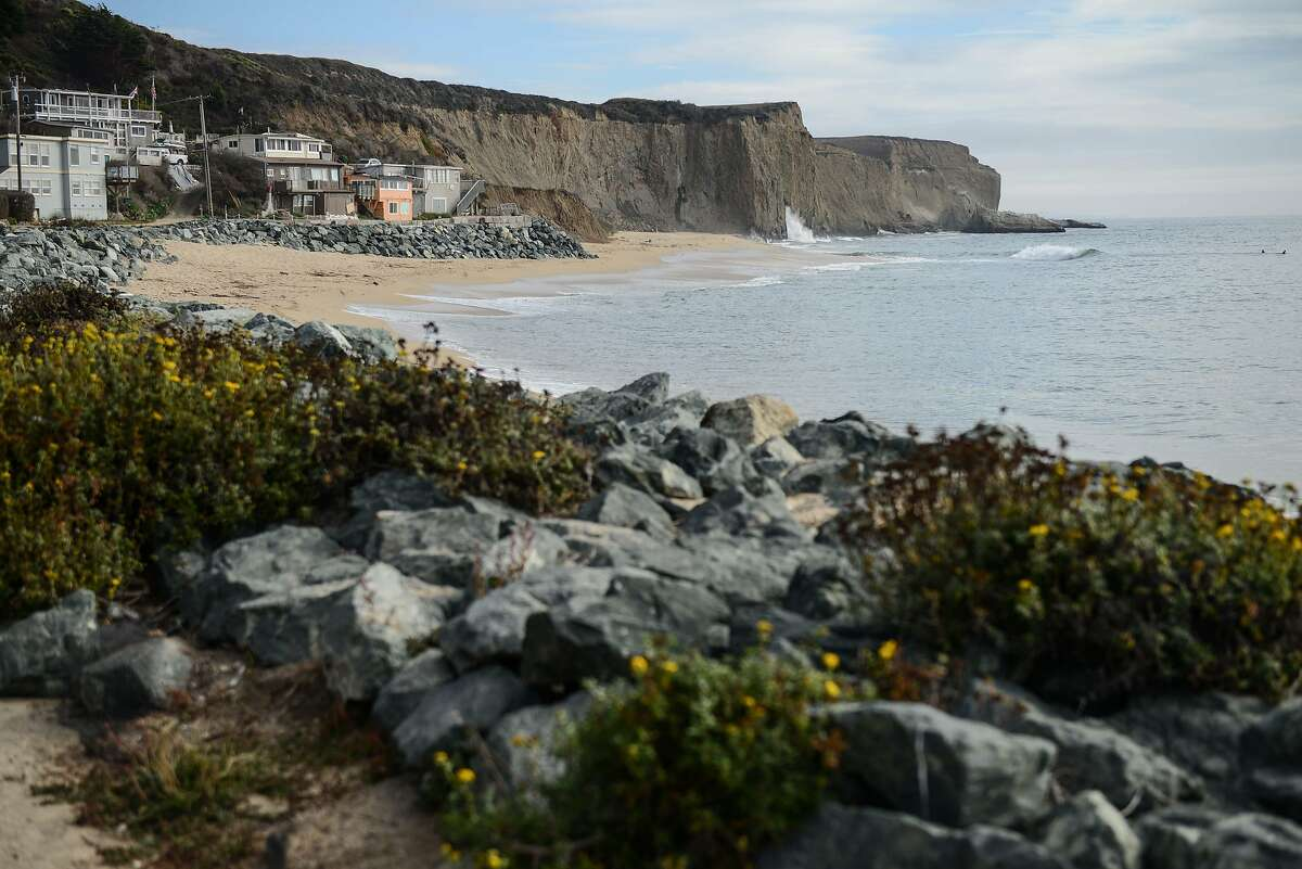 A general view of Martins Beach in Half Moon Bay on Monday October 1, 2018.
