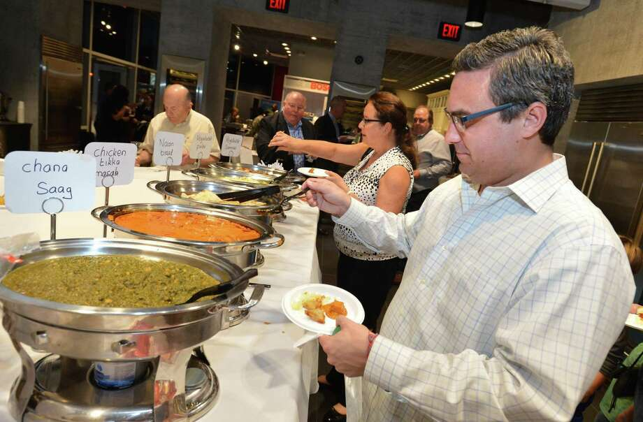 "Aitoro Appliance hosts the first-ever ""Taste of the Chamber"" event sponsored by the Greater Norwalk Chamber of Commerce, scheduled for Oct. 17, 2018. >>Click through to see some of the participating eateries.... Photo: Alex Von Kleydorff / Hearst Connecticut Media / Norwalk Hour"