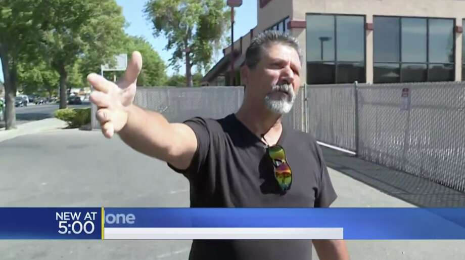 Angelo Verdone recounts the struggle to the local CBS affiliate in Sacramento. Photo: CBS Sacramento