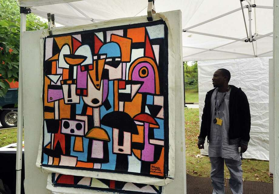 More than 85 artists from across the country will showcase their work on the grounds of the Bruce Museum from 10 a.m. to 5 p.m. Saturday and Sunday at the Outdoor Arts Festival. The juried works will include painting on canvas, board and paper, mixed media in 2D and 3D, drawings and graphics, including digital media, sculpture and photography. All works are available for purchase and artists are on hand to discuss their pieces and process. Admission is free to Bruce Museum members and children under 5; entry is $10 for nonmembers and includes access to the Bruce Museum galleries. Parking available in municipal lots near the museum. For more info, visit brucemuseum.org or call 203-869-0376. Photo: File / Bob Luckey Jr. / Hearst Connecticut Media / Greenwich Time