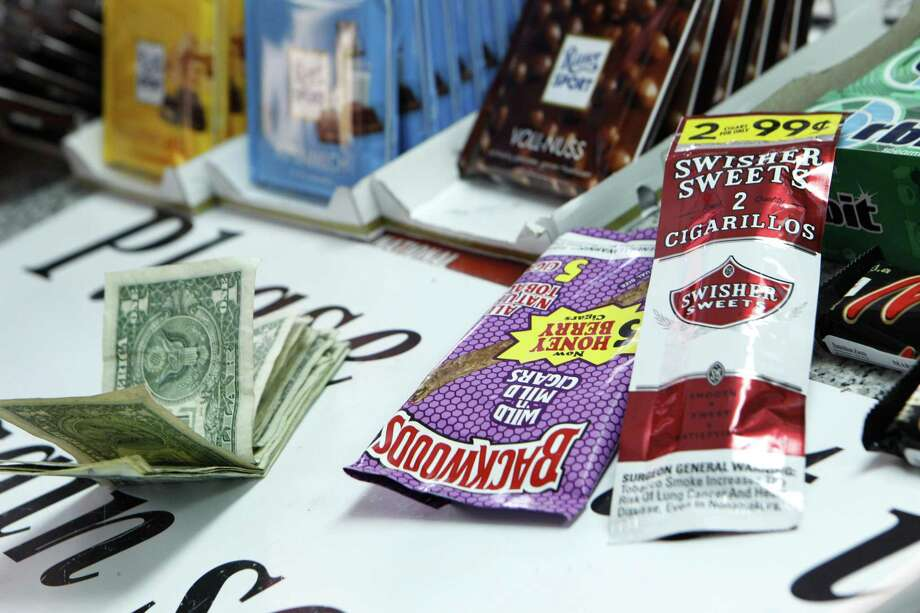 A Yale University study found a high rate of sweeteners added to the most popular brands of cigarillos, a small cigar only slightly larger than a cigarette. Photo: Santiago Mejia / The Chronicle / ONLINE_YES