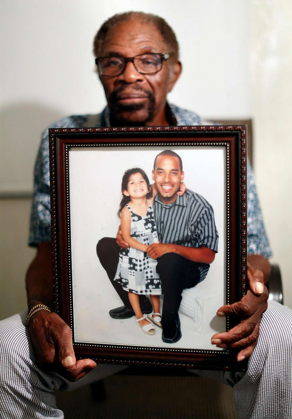 Mack Wilson's son, Neko, was an accomplice to a 2009 murder but will be subject to resentencing under new laws signed by California Governor Jerry Brown, Photographed at the headquarters of Advocates for Justice in Modesto, Calif. on Monday, October 1, 2018.