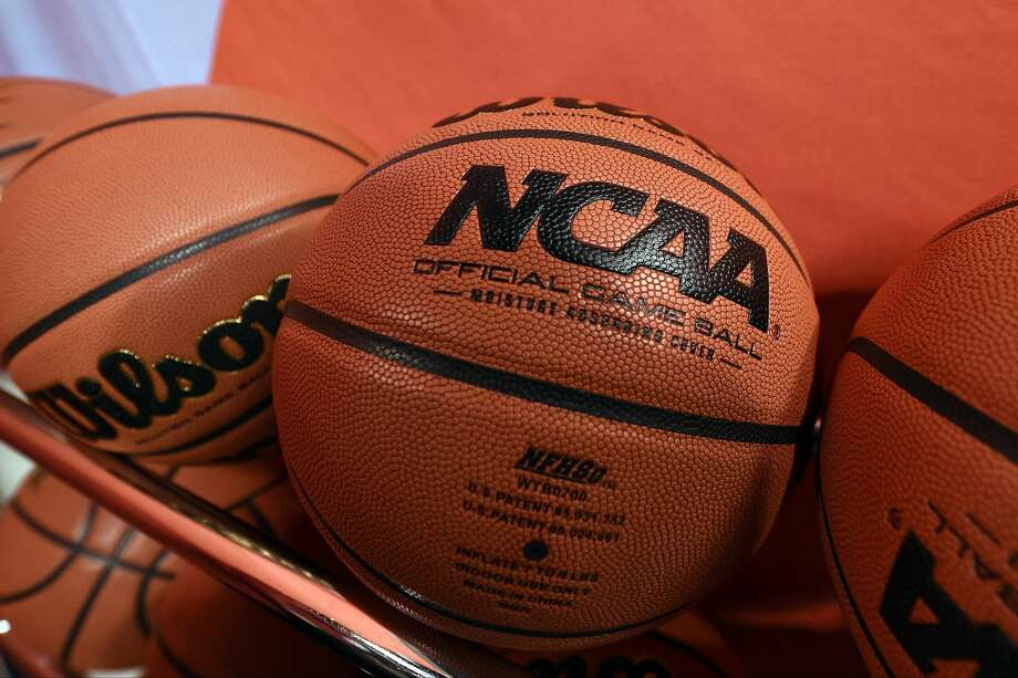 INDIANAPOLIS, IN - APRIL 03: Wilson NCAA basketballs are seen at Lucas Oil Stadium on April 3, 2015 in Indianapolis, Indiana. (Photo by Lance King/Getty Images) Photo: Lance King/Getty Images