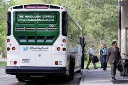 The Woodlands Township's new safe transit porgram, #SitSafe, has been adopted by eight regional transit partners as the annnual commuting options awareness month gets underway. Ruthanne Haut, the deputy director for community services overseeing transit and infrastructure for The Woodlands, said the social media campaign idea theorized by a Millennial on the township transit staff has gained not only traction but accolades from other area transit departments. (Michael Wyke / For the Chronicle)