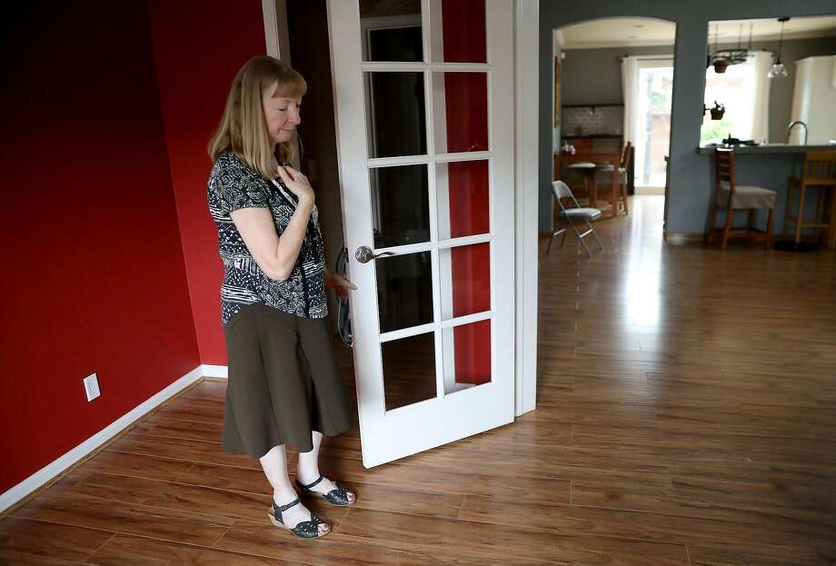 Astrid Granger in her new home in Windsor on Friday, July 6, 2018. More than 8 months after the Tubbs Fire  destroyed their home in Santa Rosa, the Grangers finally have a home of their own. Photo: Guy Wathen / The Chronicle