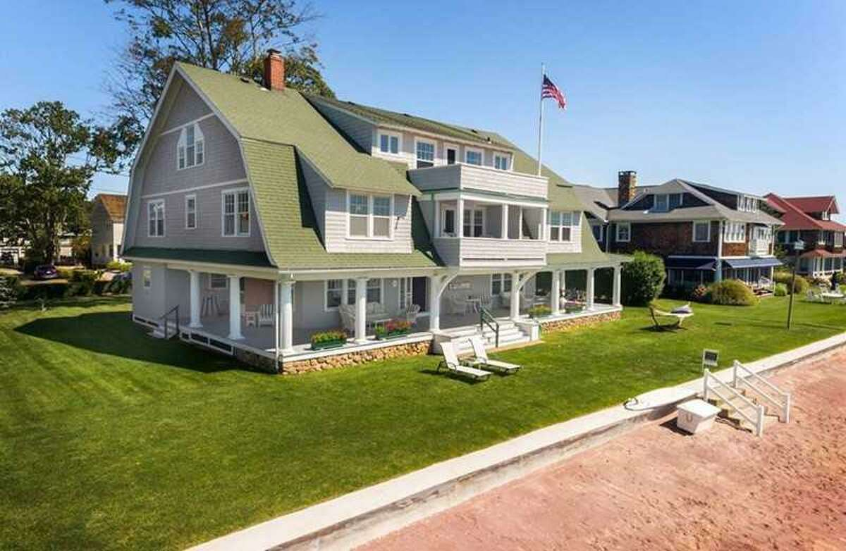 This historic Madison colonial at 100 Middle Beach Road sold for $2.875 million in June.