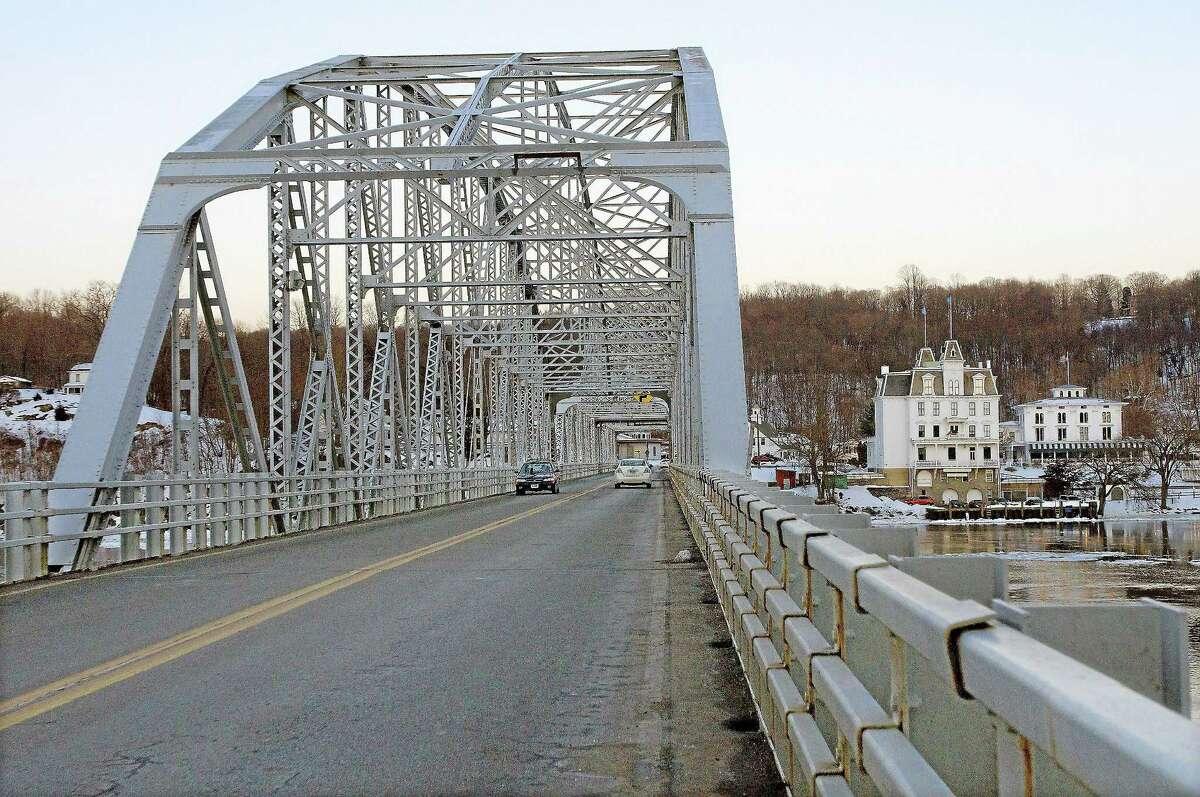 The East Haddam swing bridge.