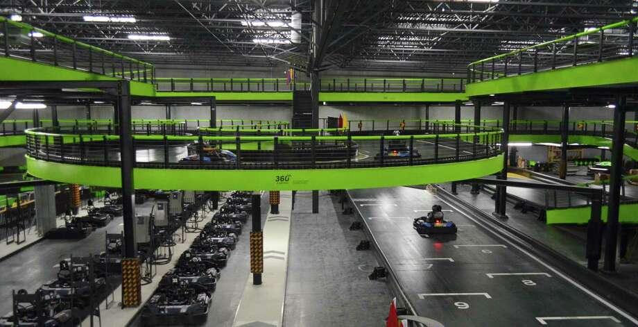 Andretti Indoor Karting Races Ahead Of The San Antonio