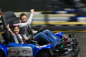 San Antonio's Incredible Pizza Company features indoor go-kart racing.