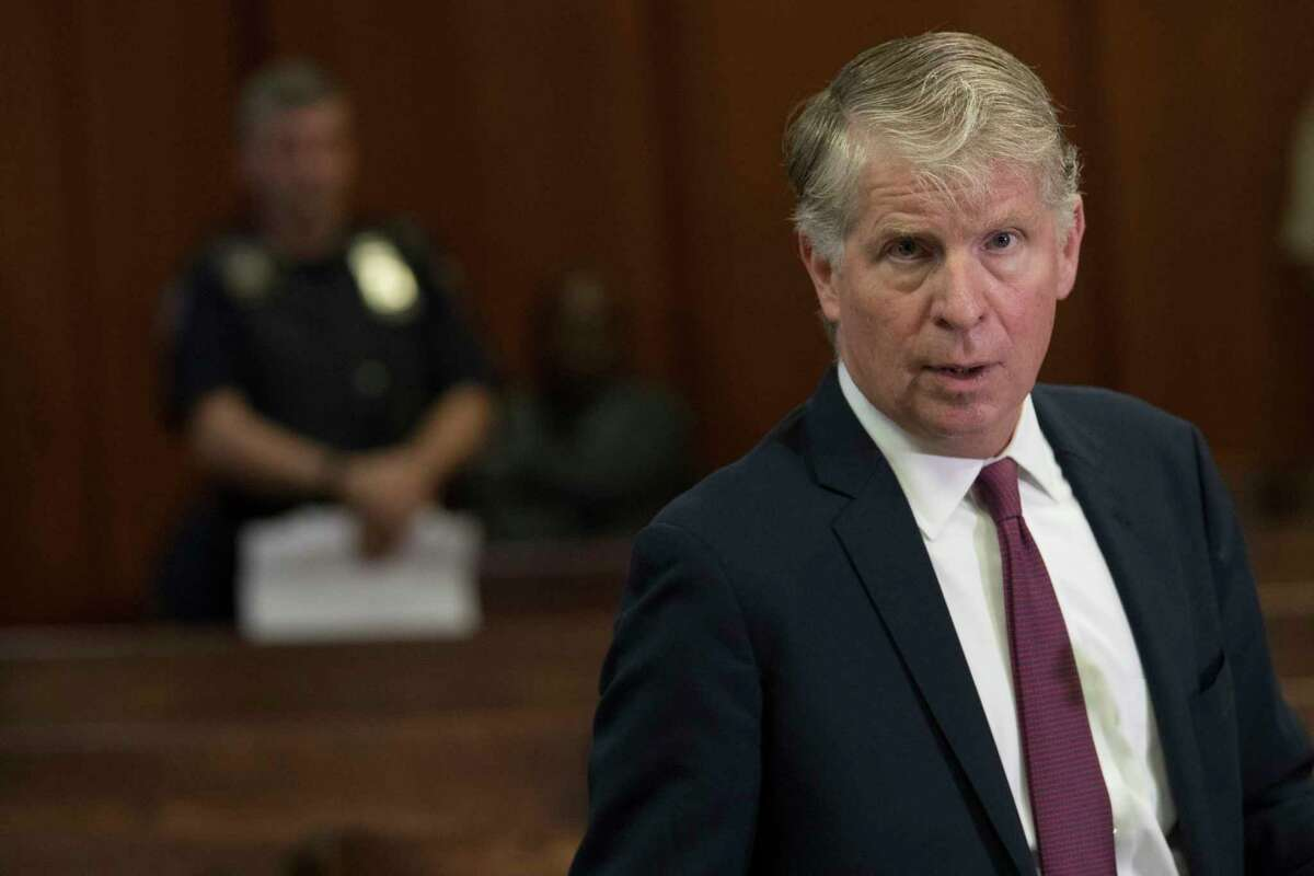 Manhattan District Attorney, Cyrus Vance, Jr., speaks to reporters after a hearing in Manhattan criminal court, Wednesday, Sept. 12, 2018, in New York. Manhattan District Attorney Cyrus Vance Jr. successfully asked a court on Wednesday to scrap more than 3,000 warrants for people who missed court dates in marijuana possession cases. It also tossed out the misdemeanor and violation-level marijuana cases themselves. Some dated to the 1970s. (AP Photo/Mary Altaffer)