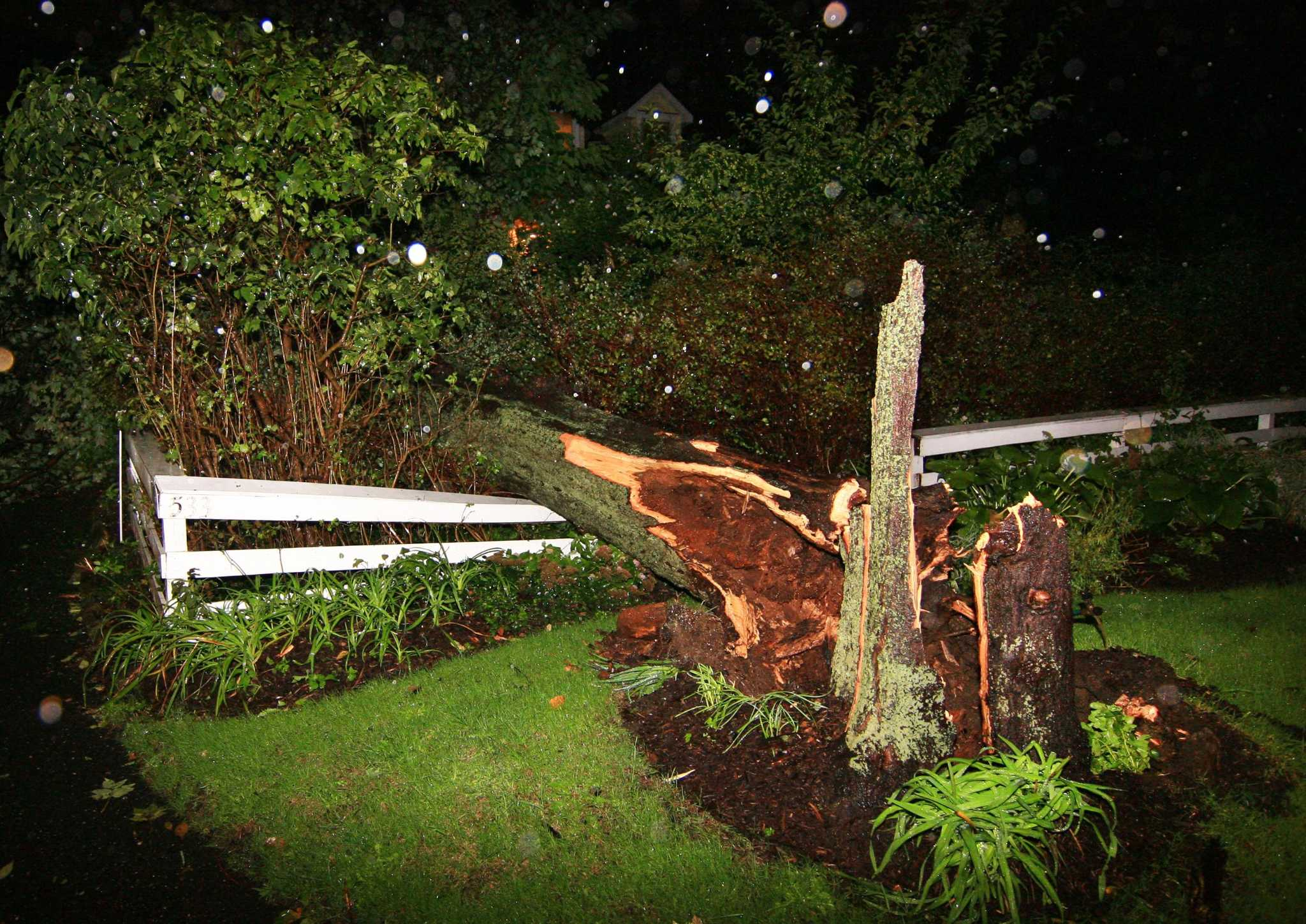 Bridgeport mostly spared by Tuesday\'s storms - Connecticut Post