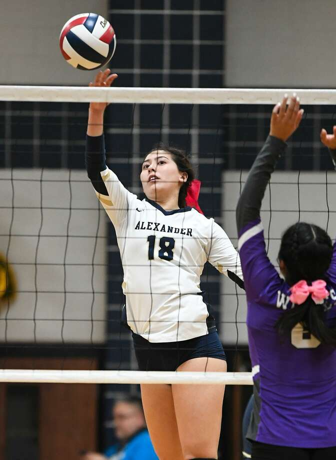 Alexander's Amber Tran will represent the West All-Stars in Tuesday's match. Photo: Danny Zaragoza /Laredo Morning Times File