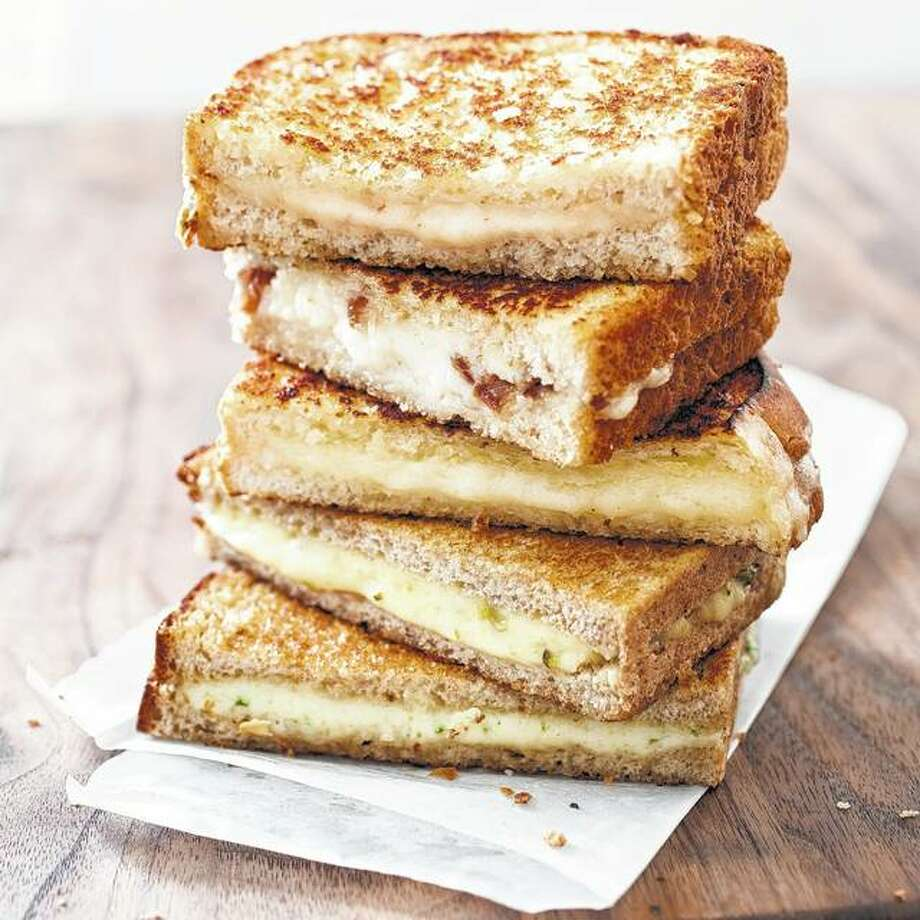 Grown-Up Grilled Cheese with Cheddar and Shallot elevates a simple grilled cheese sandwich from the kids' menu. Photo: Carl Tremblay | America's Test Kitchen Via AP