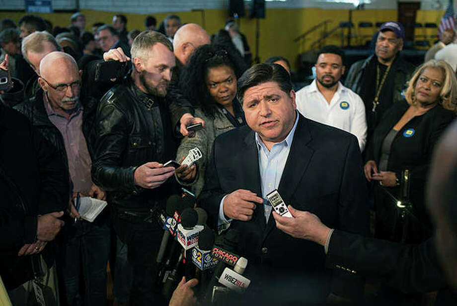 """J.B. Pritzker, the billionaire Democratic candidate for governor, engaged in a """"scheme to defraud"""" taxpayers when he removed toilets from a Chicago mansion as part of a property tax reassessment that saved him $330,000, according to media reports citing a government report. The review by Cook County Inspector General Patrick Blanchard also found that family members and associates made """"false representations"""" to the county assessor about the condition of the Chicago mansion that sits adjacent to another Pritzker owns. Photo: Max Herman 