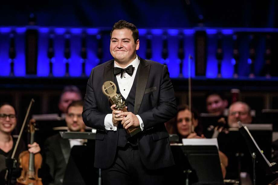Galeano Salas wins the International Éva Marton Singing Competition, a prestigious opera singing competition in Budapest, Hungary. Photo: Courtesy International Éva Marton Singing Competition. / Fotó: Mudra László - Zeneakadémia