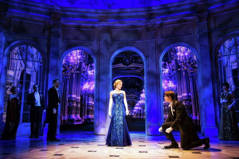 "A scene from the Broadway musical ""Anastasia,"" playing at Proctors next week. (Photo by Matthew Murphy for ""Anastasia"" via Proctors.)"