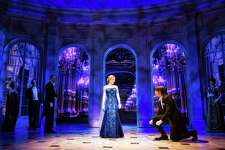 """A scene from the Broadway musical """"Anastasia,"""" playing at Proctors next week. (Photo by Matthew Murphy for """"Anastasia"""" via Proctors.)"""