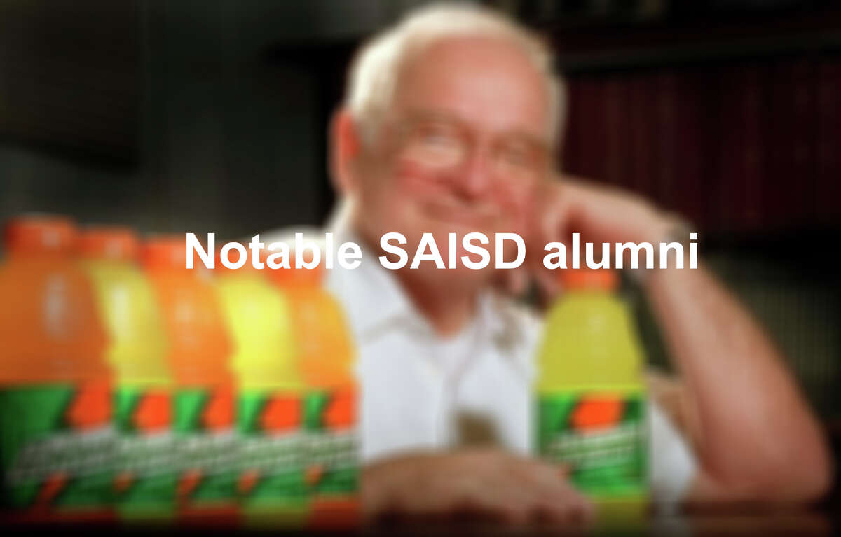 Click through the slideshow to see famous faces who graduated from SAISD schools.