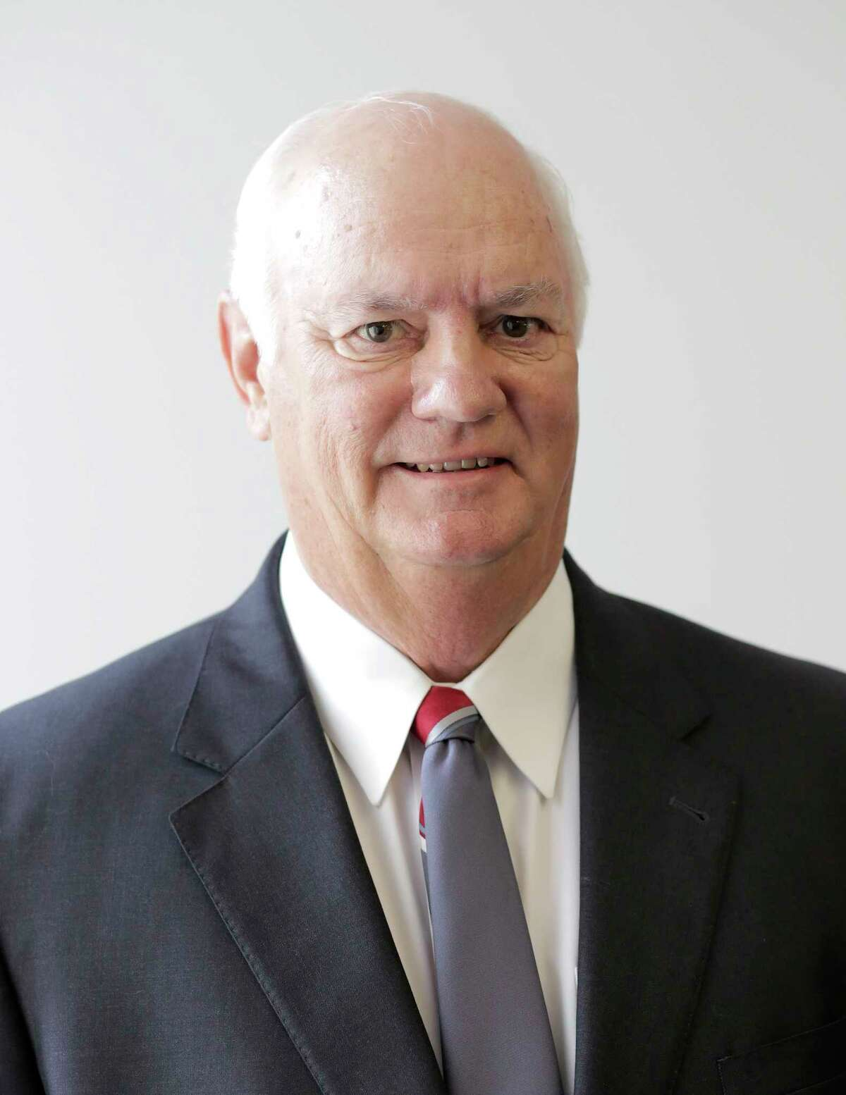 Headshot of Fort Bend DA candidate Cliff Vacek (R) before they meeting with the Editorial Board on Wednesday, Sept. 5, 2018 in Houston.