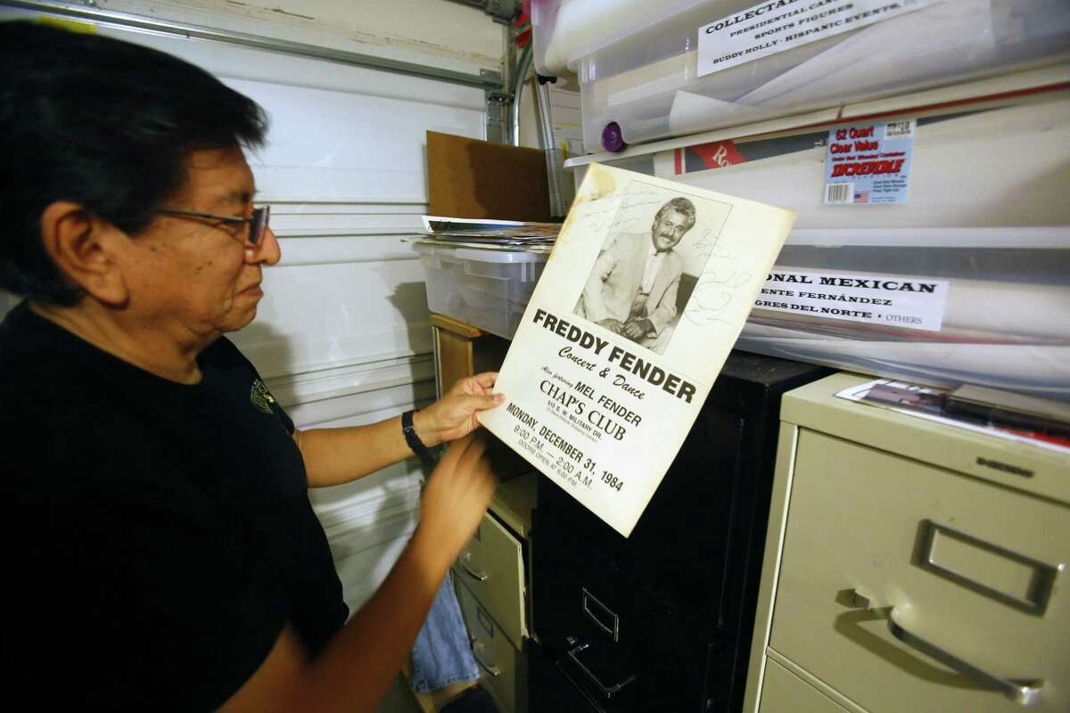Music journalist, photographer, collector and musicologist Ramon Hernandez has amassed a massive archive of materials related to Tejano, conjunto and Texas rock 'n' roll.