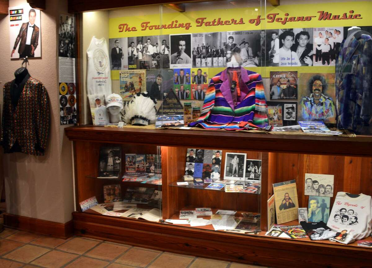 AWittliff Collections display devoted to the founding fathers of Tejano music was drawn from the Ramon Hernandez Archives.