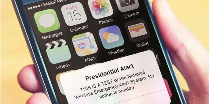 Today at 1:18 pm CST the Federal Emergency Management Association (FEMA) and the Federal Communications Commission (FCC) will be conducting a nationwide test of the Wireless Emergency Alert (WEA) system, followed by a nationwide test of the Emergency Alert System (EAS).