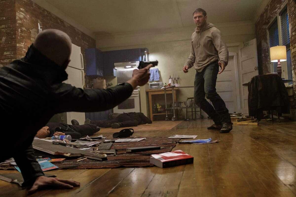 """Tom Hardy stars in the film """"Venom."""" (Frank Masi)"""
