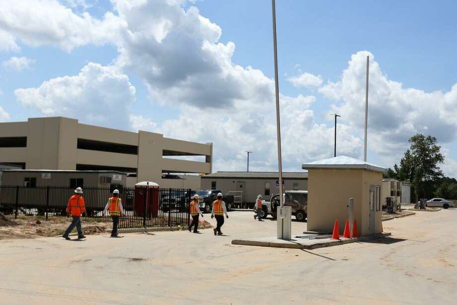 Construction Done On New Ice Detention Center In Conroe The Courier