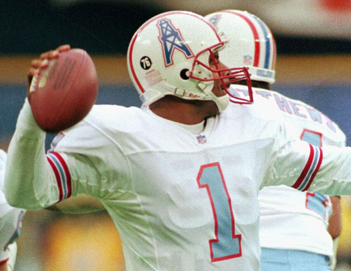 The Houston Oilers  The Tennessee Titans might have something to say about this.