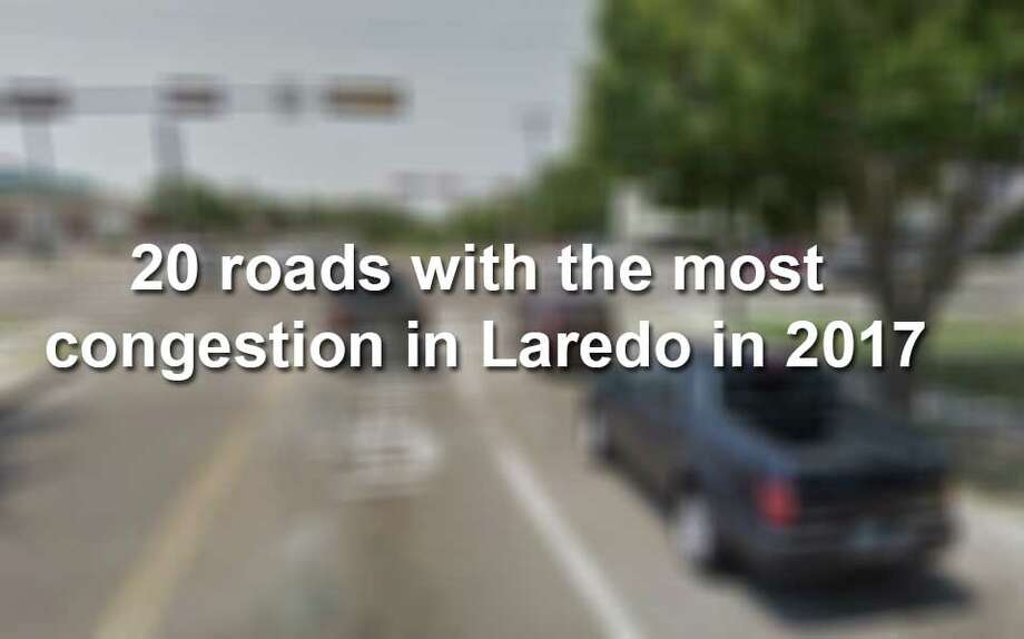 Keep scrolling to see the roads in Laredo with the most congestion. Photo: Courtesy