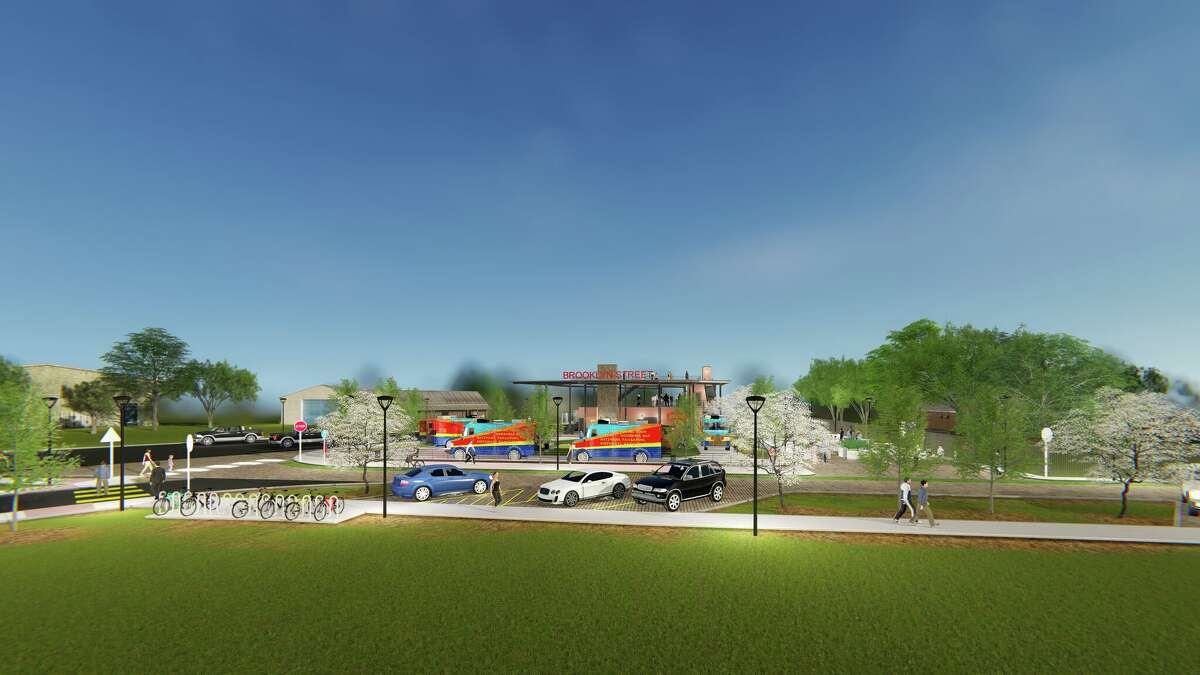 San Antonians Joe Anthony Guerrero, Michael Guerrero, Chris Morales and Scott Esquivel are planning a three-story food truck park complete with live music, two bars and more on the East Side. Groundbreaking is scheduled to take place next month, with plans to open by Fiesta 2019.