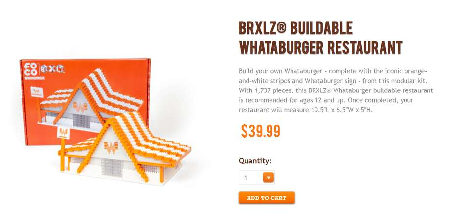 Whataburger is now offering a LEGO-style set of its restaurant.  >>> See a history of Whataburger through the years Photo: Http://shop.whataburger.com
