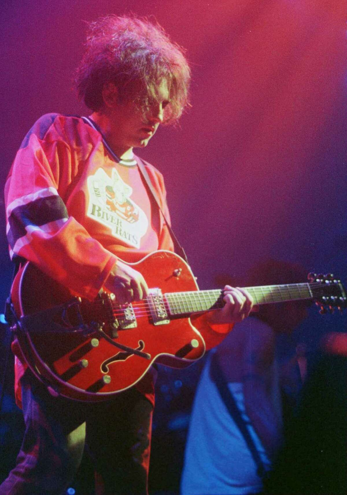 THE CURE, KNICKERBOCKER ARENA, 9/11/96 (Times Union Photo by TOM LAPOINT)