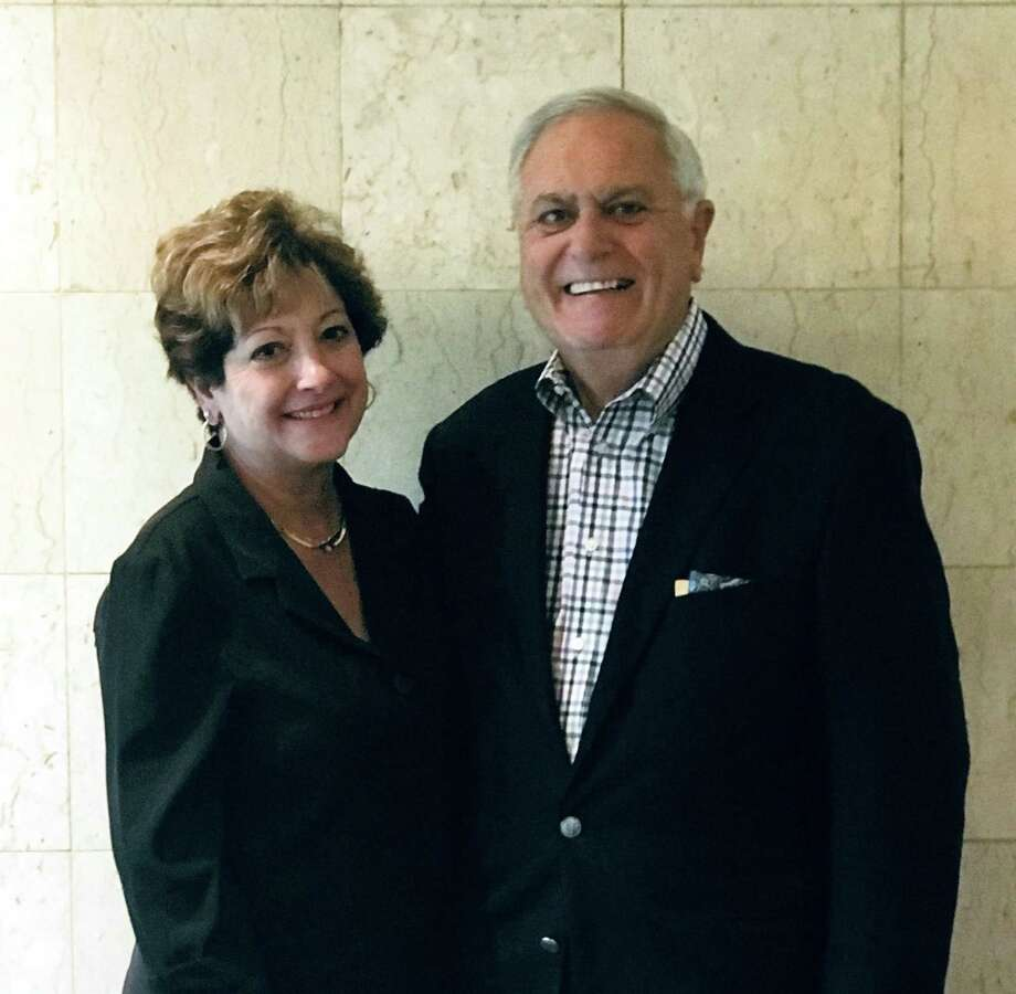 "Francine Iannotti Coppola, left, and her husband Mario Coppola will be honored on Friday, Oct. 5, 2018 as West Haven's 2018 ""Italian-Americans of the Year."" Photo: Contributed"