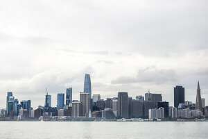 The skyline from Treasure Island in San Francisco, California, on Wednesday, Oct. 3, 2018.